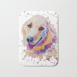 Labrador portrait Bath Mat