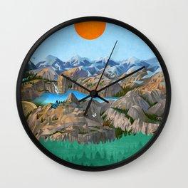 Rock Trip Wall Clock