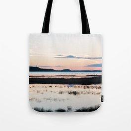 Sunset in Iceland - nature landscape Tote Bag