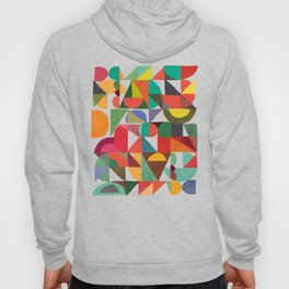 Color Blocks Hoody