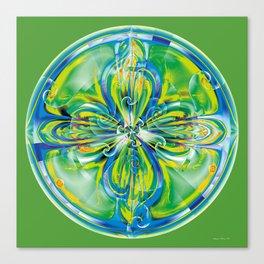 Mandalas of Healing and Awakening 6 Canvas Print