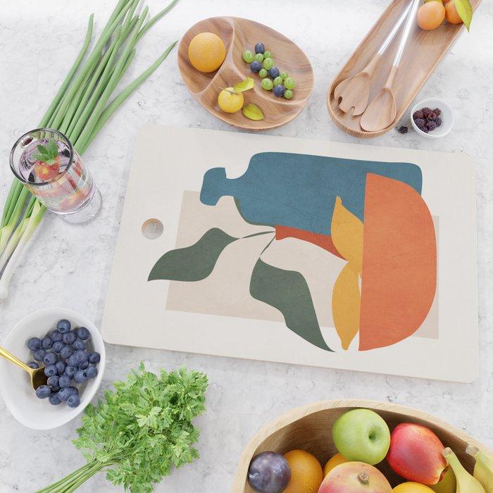 Minimalist Still Life Art Cutting Board