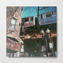 Chicago Transit Authority Metal Print