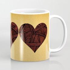 - heart line - Mug