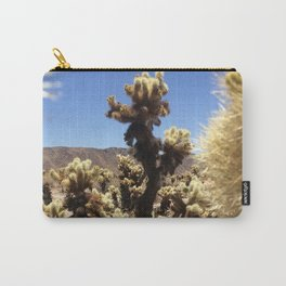 Joshua Tree Cholla Cactus Window #1 Carry-All Pouch