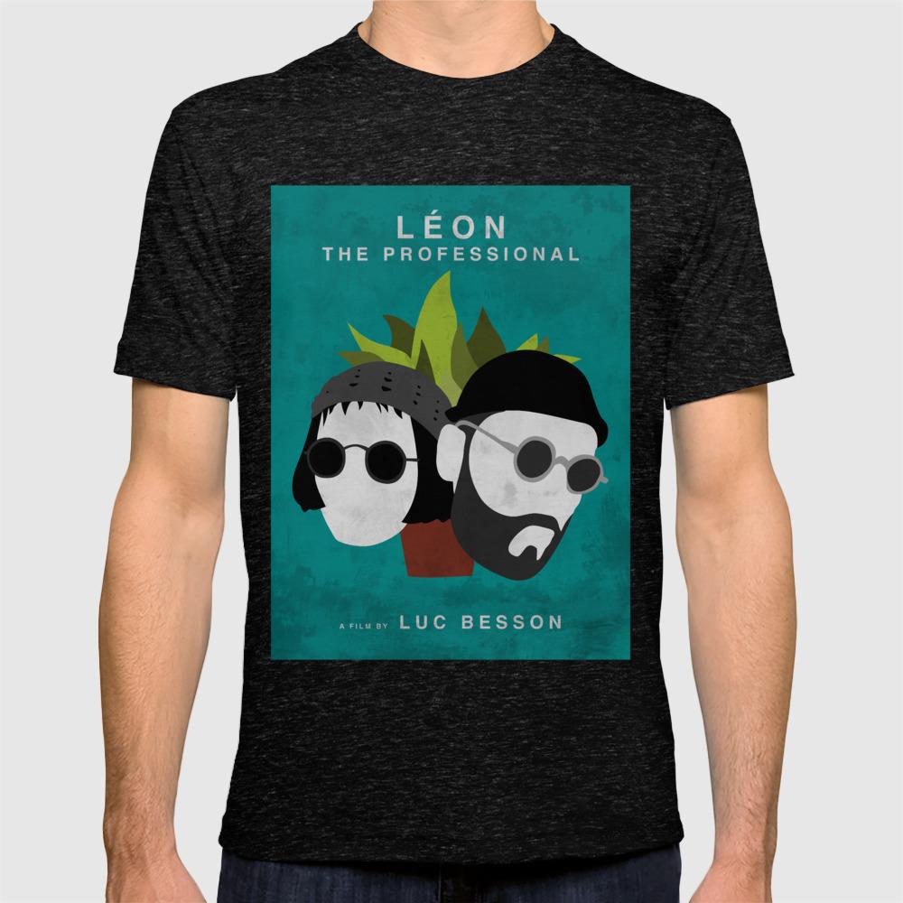 Luc Besson great Leon movie Léon The Professional t-shirt
