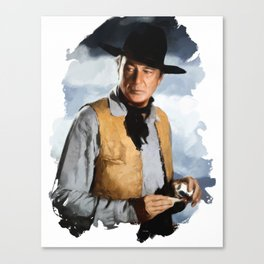 Gary Cooper, Actor Canvas Print