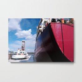 Ready to sail Metal Print