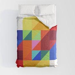 hypercube prism  Comforters