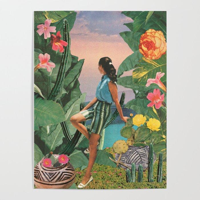 Botanical Cove Poster