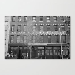 NY warehouse Canvas Print
