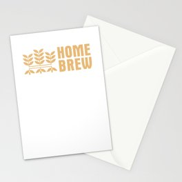 Home Brewing Brewer Craft Beer Beer Making Stationery Cards
