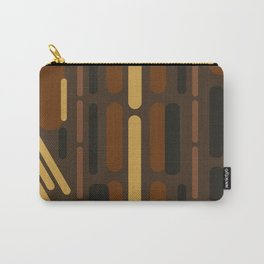 Oblong Chocolate Carry-All Pouch