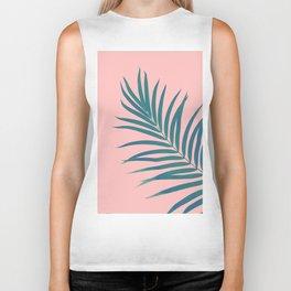 Tropical Palm Leaf #3 #botanical #decor #art #society6 Biker Tank
