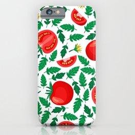Tomato Pattern iPhone Case