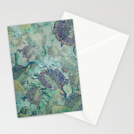 Watery Whimsy Stationery Cards