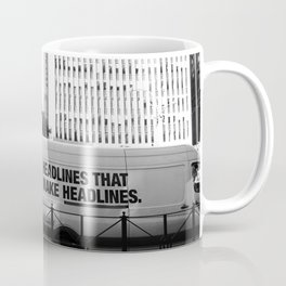 New York Post Truck, Manhattan Coffee Mug