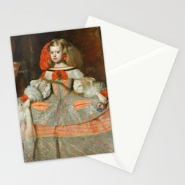"Diego Velázquez ""Infanta Margarita Teresa in a Silver Dress"" Stationery Cards"