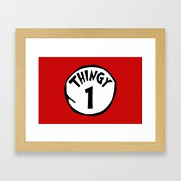 Thingy1 Framed Art Print