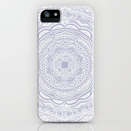 Dedication to Lucy (purple) iPhone Case