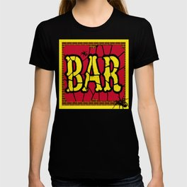BAR AND SPIDERS VINTAGE SIGN T-shirt