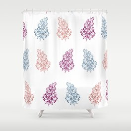 Botanical Leaf Shower Curtain