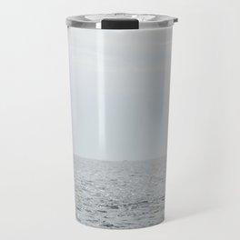A whale salute Travel Mug