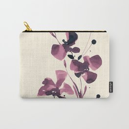 Organic Impressions 334zs by Kathy Morton Stanion Carry-All Pouch