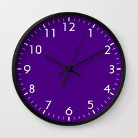 indigo Wall Clocks featuring Indigo by Beautiful Homes