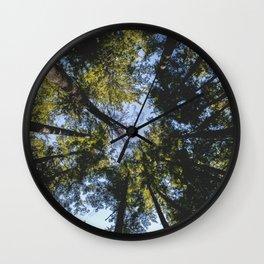 Vancouver Tree Tops Wall Clock