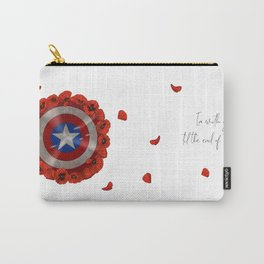 Poppies and shield Carry-All Pouch