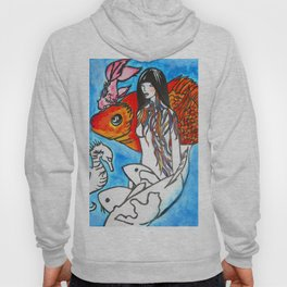 The Sea King's Daughter #society6 #decor #buyart Hoody