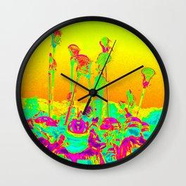 Lax Stix Wall Clock