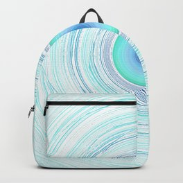 Whirled in a vortex- in the beginning - the end Backpack