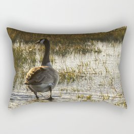 The Golden Goose Rectangular Pillow