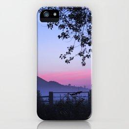 Sunrise over Glastonbury iPhone Case