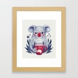 I♥Australia Framed Art Print