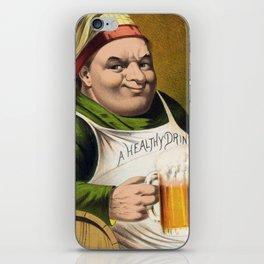 Vintage Lager Beer Advertisement iPhone Skin