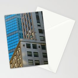 Manhattan Windows - Blue Stationery Cards