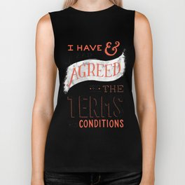 Terms and Conditions Biker Tank