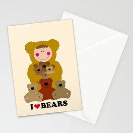 I♥BEARS Stationery Cards