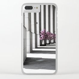 Shanghai lines Clear iPhone Case