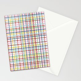 Rainbow Weave Stationery Cards
