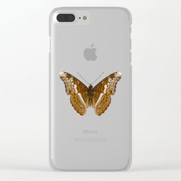 Admiral limenites butterfly Clear iPhone Case