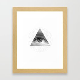 The All Seeing Eye of Life Framed Art Print