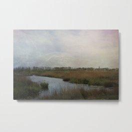 Flat Land Metal Print