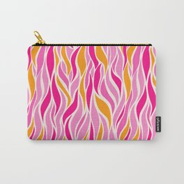 Go with the Flow in Pink Carry-All Pouch