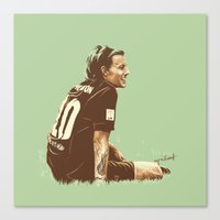 cyrilliart Canvas Prints featuring Louis #5 by Cyrilliart