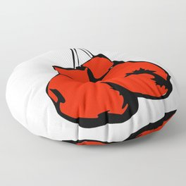 Hanging Boxing Gloves Floor Pillow
