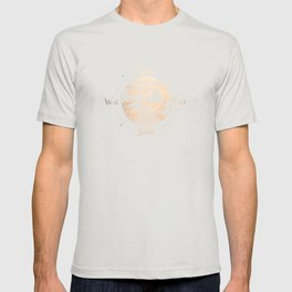 Compass World Star Map T-shirt